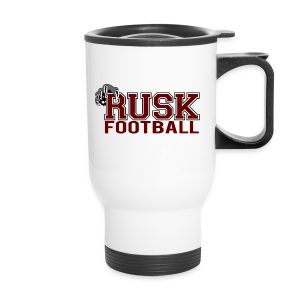 Rusk Football Travel Mug - Travel Mug