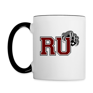 RU Coffee Mug (Black and White) - Contrast Coffee Mug
