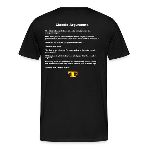 Classic Arguments (dark) - Men's Premium T-Shirt