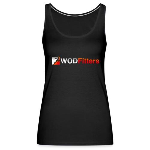 WODFItters Tank Top Black - Women's Premium Tank Top