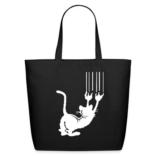 SCRATCHED BAG - Eco-Friendly Cotton Tote