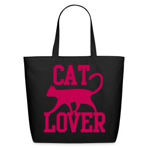 CAT LOVER - Eco-Friendly Cotton Tote