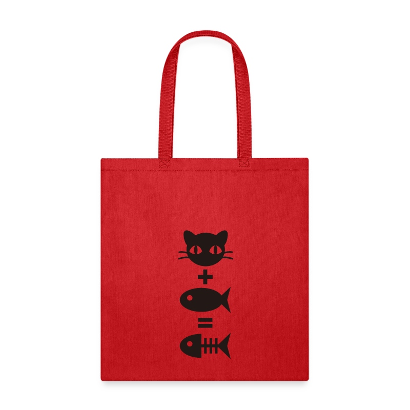 CAT PLUS FISH - Tote Bag