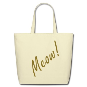 MEOW - Eco-Friendly Cotton Tote