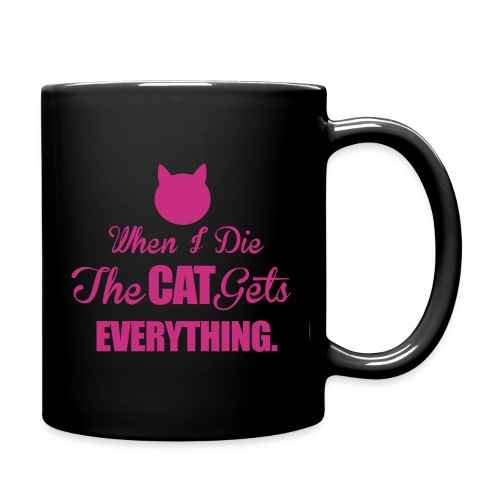 WHEN I DIE - Full Color Mug