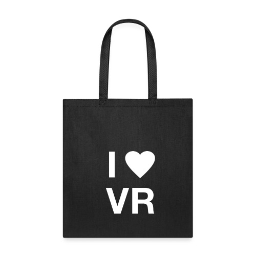 I Love VR white  - Tote Bag