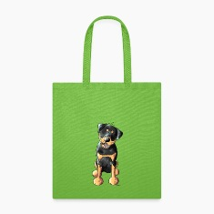 Funny Rottweiler Bags & backpacks