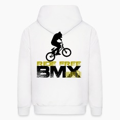 BMX - Ride Free Hoodies