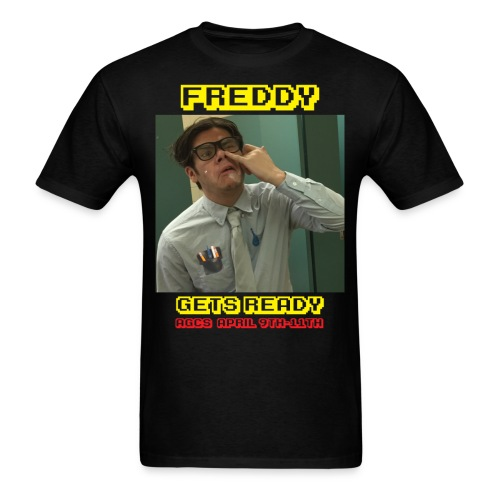 Freddy Gets Ready - Men's T-Shirt