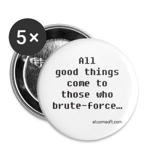 All good things come to those who brute-force... - Large Buttons