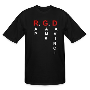 KTA - RapGameDavinci - Men's Tall T-Shirt
