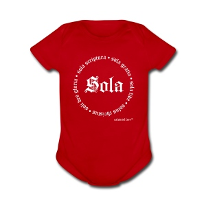 5 Sola Baby - Short Sleeve Baby Bodysuit