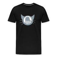 T-Shirts ~ Men's Premium T-Shirt ~ Thinking of Beer cat