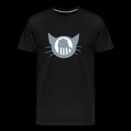 T-Shirts ~ Men's Premium T-Shirt ~ Thinking of Beer cat