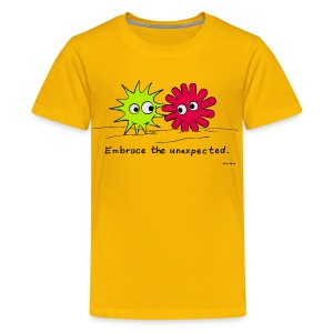 Embrace the unexpected. - Kids' Premium T-Shirt