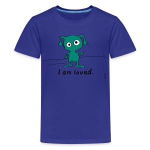 I am loved. - Kids' Premium T-Shirt