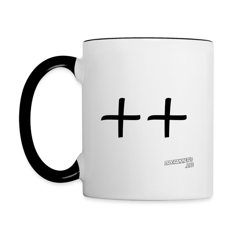 C++ - Contrast Coffee Mug