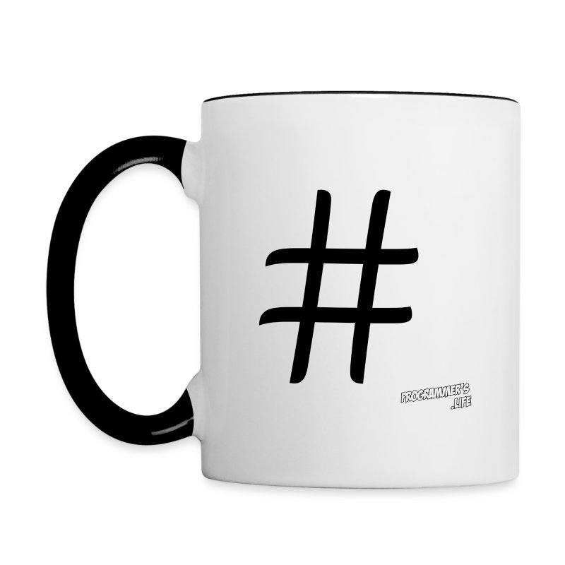 C# - Contrast Coffee Mug