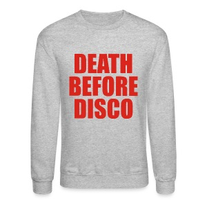 Stripes – Death Before Disco - Crewneck Sweatshirt