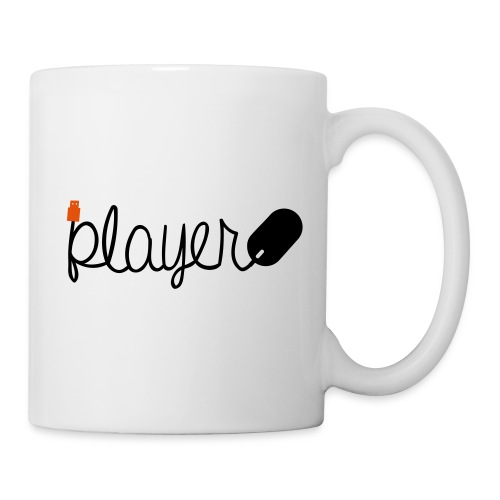 Player-Black - Coffee/Tea Mug