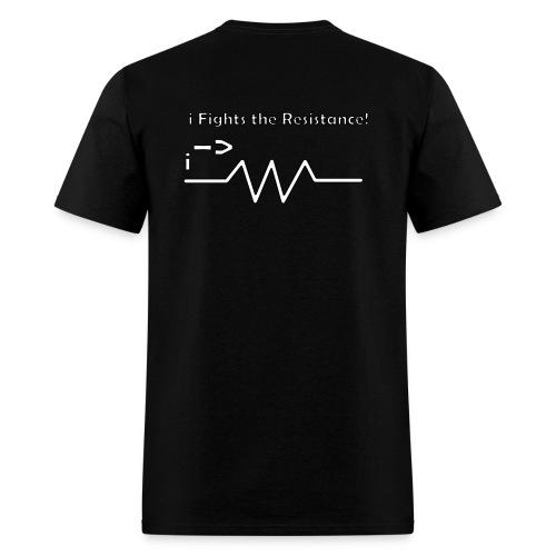 I fights the resistance - T-shirt - Men's T-Shirt