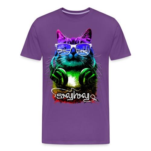 Gamer Cat Colors - Men's Premium T-Shirt