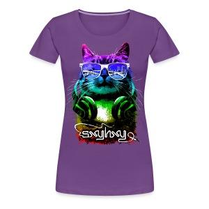Gamer Cat  - Women's Premium T-Shirt