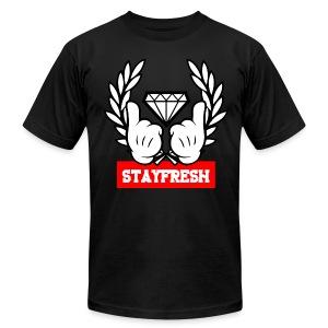 Mens Stay Fresh Tee - Men's Fine Jersey T-Shirt
