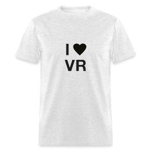 I Love VR black - Men's T-Shirt