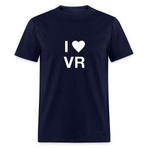 I Love VR white - Men's T-Shirt