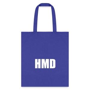 HMD white - Tote Bag