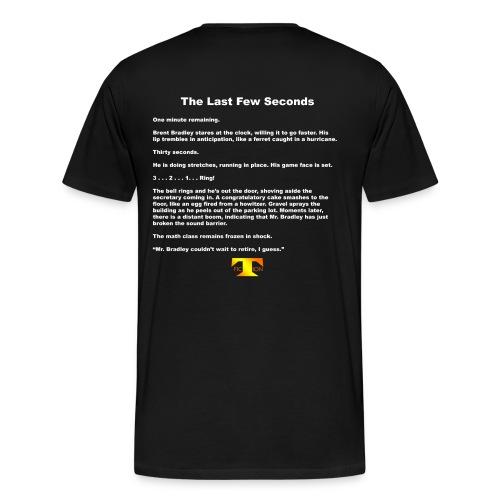 The Last Few Seconds (dark) - Men's Premium T-Shirt
