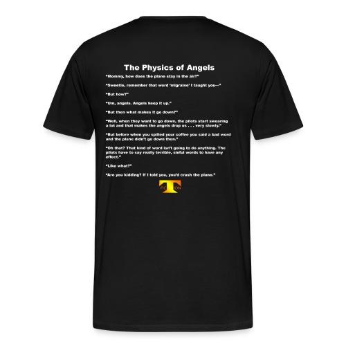 The Physics of Angels (dark) - Men's Premium T-Shirt