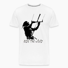 Kite Surf - Ride the Wind T-Shirts