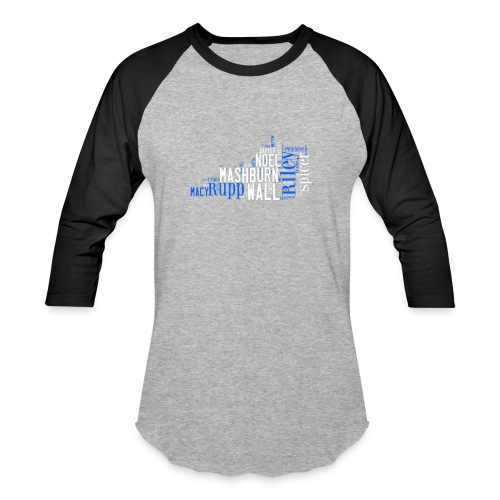 All Time Kentucky Basketball Greats Men's Baseball T-Shirt - Baseball T-Shirt