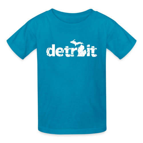 DETROIT-MICHIGAN - Kids' T-Shirt