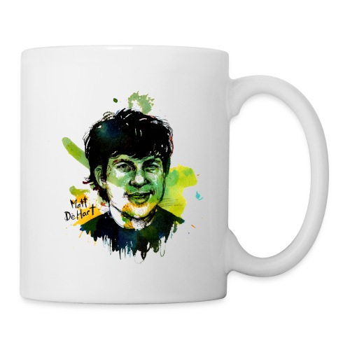 Molly Crabapple painting of Matt DeHart on Mug - Coffee/Tea Mug