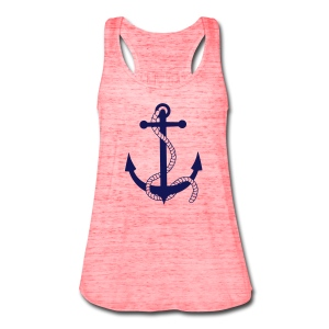Anchor Tank - Women's Flowy Tank Top by Bella