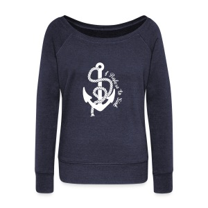 Refuse to Sink! - Women's Wideneck Sweatshirt