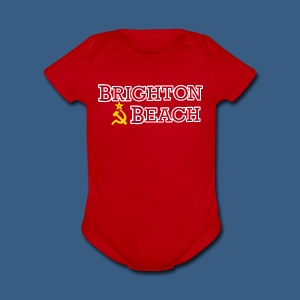 Brighton Beach Old Russia - Short Sleeve Baby Bodysuit