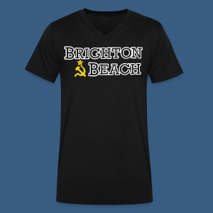 Brighton Beach Old Russia - Men's V-Neck T-Shirt by Canvas