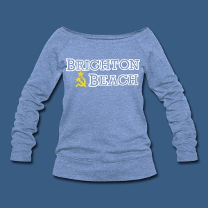 Brighton Beach Old Russia - Women's Wideneck Sweatshirt