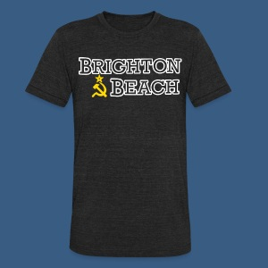 Brighton Beach Old Russia - Unisex Tri-Blend T-Shirt by American Apparel