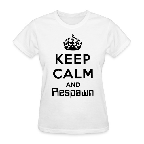 Keep Calm and Respawn - Women's T-Shirt