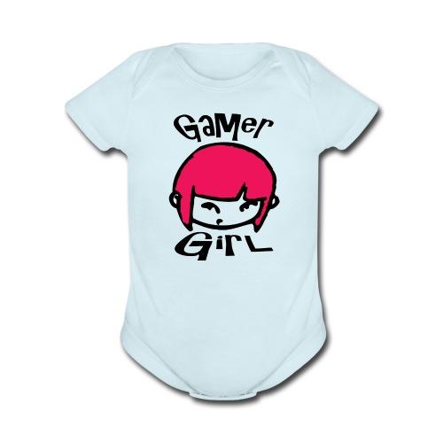 Organic Short Sleeve Baby Bodysuit - Stonefoxmedia store,Stonefoxmedia,Stonefoxarmy,Stonefox