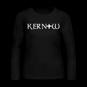 Kernow Heart - Women's Long Sleeve Jersey T-Shirt