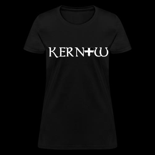Kernow Heart - Women's T-Shirt