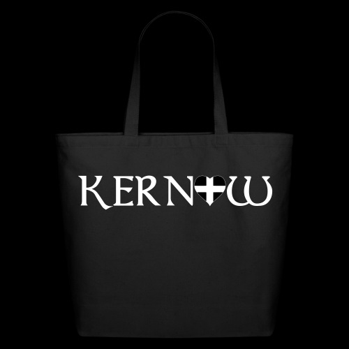 Kernow Heart - Eco-Friendly Cotton Tote