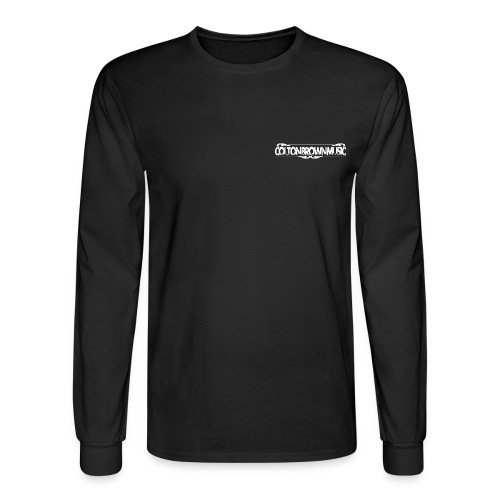 Colton Brown - Empty Glass Lyrics Tee - Men's Long Sleeve T-Shirt