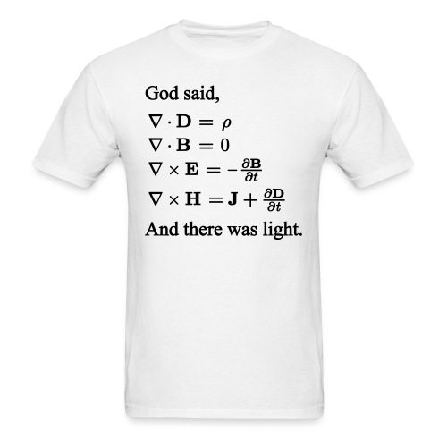 Maxwell Equations - Men's T-Shirt